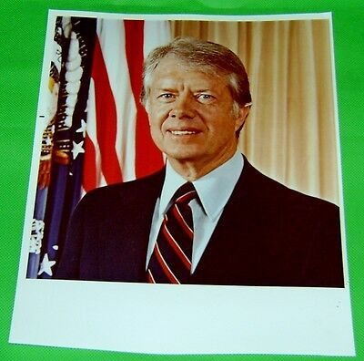 "Official White House Photo of President Jimmy Carter 8"" x 10"""