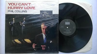 """Phil Collins You Can't Hurry Love Uk 12"""" Vs 531-12 In Shirnk 1982 Genesis Rock"""