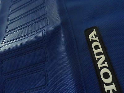 SEAT COVER HONDA XRV 750 AFRICA TWIN BLUE, Gripper!! Free shipping WORLDWIDE