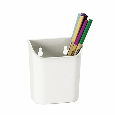 Officemate Magnet Plus Magnetic Pencil Cup, White 92540