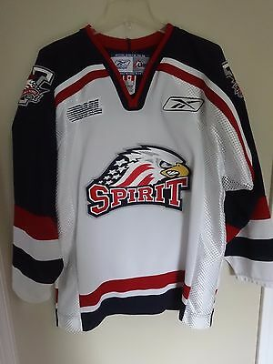 Reebok CCM 2007 CHL OHL Saginaw Spirit Hockey Jersey Men M Ontario Hockey League