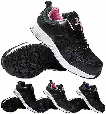 Womens Ladies Ultra Lightweight Work Steel Toe Cap Safety Shoes Trainers Boots