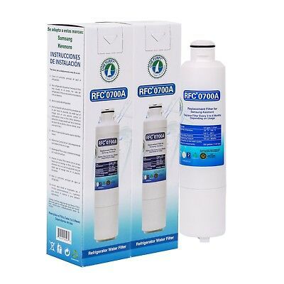 2 Pack Samsung DA29-00020B,9101,HAF-CIN/EXP Compatible Refrigerator Water Filter