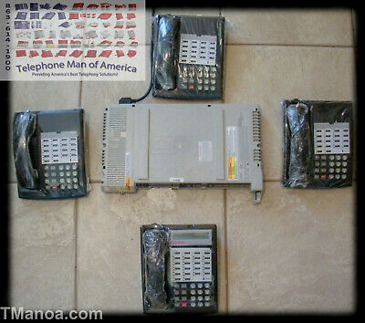 Avaya Lucent AT&T Partner ACS Business Phone System 1 Display 3 NonDisplay Phone