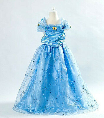 Cenerentola - Vestiti Carnevale - Dress up Princess Cinderella Costumes Dresses·