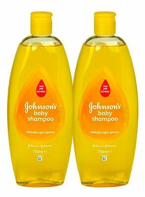 Johnson's Baby Shampoo, 25.3 Ounce / 750 ml UK (Pack of 2)