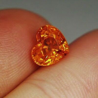 Fanta Orange! Best Mandarin Spessartite Garnet 3.20ct GLI