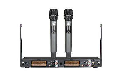 200CH UHF Wireless Metal Construction Handheld Microphone System ATL-AUDIO U-628