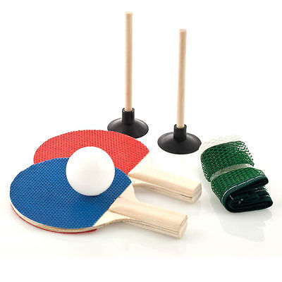 Mini Table Tennis Set - ball paddle gift table tabletop Ping-Pong pingpong