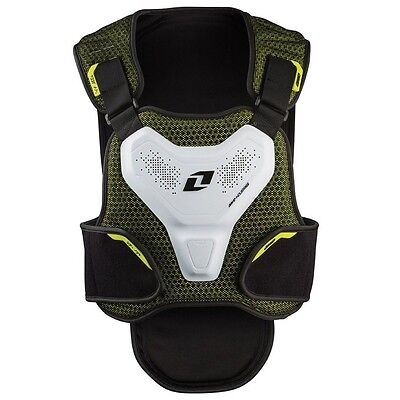 New One Industries Exo Chest Back Protector Offroad Motocross Mx Atv S/m