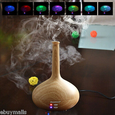 7 Color LED Ultrasonic Aroma Diffuser Air Mist Humidifier Purifier Aromatherapy