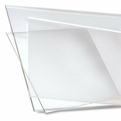 Clear Acrylic Perspex Plastic Sheet Clear 8 MM Thick Custom Size Option Availabl