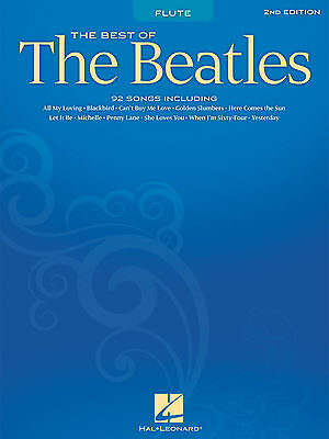 Best Of The Beatles For Flute Sheet Music Song Book