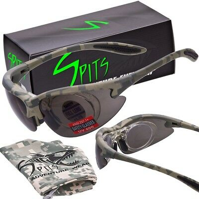 MAGSHOT Hunting Shooting Safety Glasses Camo Frame Full Magnifying with 1.75 mag