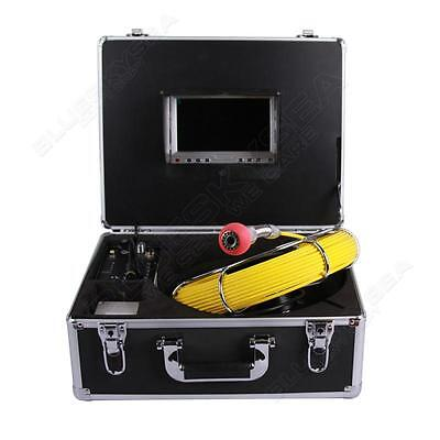 """7""""Color LCD 30m Sewer Waterproof Camera Pipe Pipeline Drain Inspection System"""