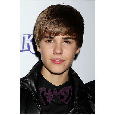 Justin Bieber on Red Carpet Close Up Head Shot 8 x 10 Inch Photo
