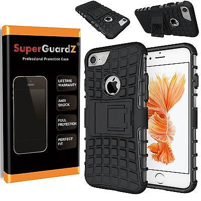 SuperGuardZ® Heavy-Duty Shockproof Hard Case Cover Armor w/ Stand For iPhone 7