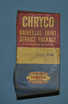 1955-58 Dodge Plymouth Chrysler Desoto U Joint Service Package 1603398