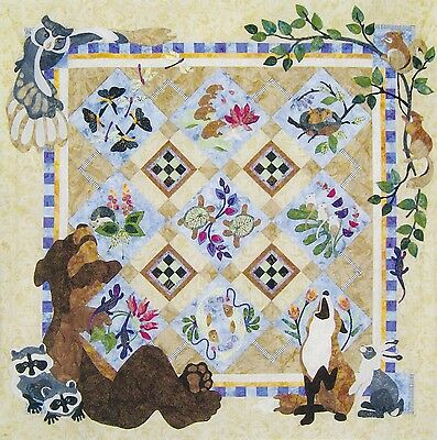 Forest Galorest Quilt Pattern and Pre-cut Kit