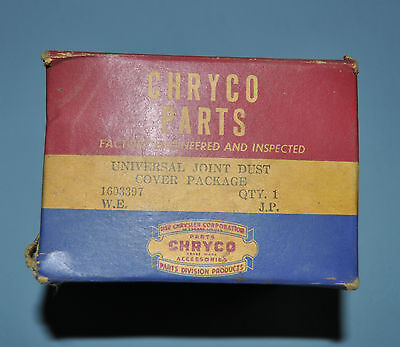 1940-65 Dodge Plymouth Chrysler Desoto U Joint Service Package 1603397 NOS