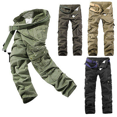 Men's Tactical Military Combat Lightweight Casual Trousers Hunting Cargo Pants