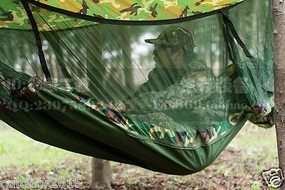 Anti-mosquito tropical hammock multifunction outdoor sleeping supplies f Camping