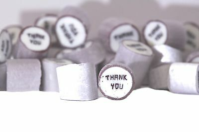 1kg Rock Candy  Thank you Thankyou Thanks Party Wedding Favours Candy Lollies
