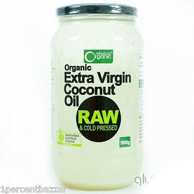 Absolute organic coconut oil 900g
