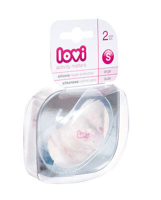 New silicone nipple protector Lovi 2 pcs for breast feeding