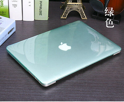 "Crystal Hard Case + Keyboard Cover For Apple MacBook Air 11"" 13"" Pro 12 inch 15"""