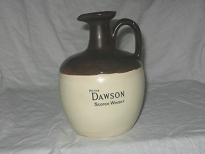 Peter Dawson scotch whisky flagon.free UK delivery