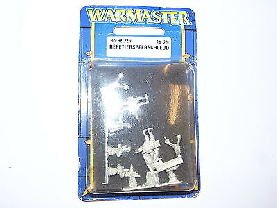 Warmaster High Elves Repeating Bolt Throwers Blister