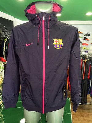 Giacca Vento Calcio Jacket Authentic Windrunner Nike Barcelona 2016/2017 Viola