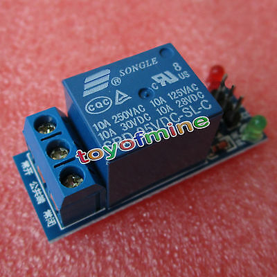 5V One 1 Channel Relay Board Module Optocoupler LED for Arduino PiC ARM AVR MCU