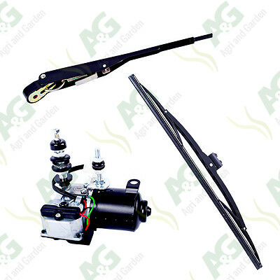 12V HD Wiper Motor Kit. Suitable For Tractors, Diggers, Forklifts