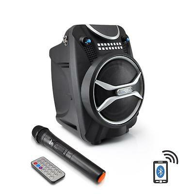 "Pyle 6.5"" 200W Portable PA Rechargeable Bluetooth Wireless Microphone DJ"