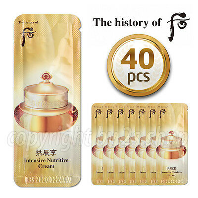 [The History of Whoo] Intensive Nutritive Cream 1ml x 40pcs  Qi & Jin  Cream