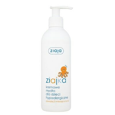 Ziaja Ziajka Hypoallergenic Bath Soap Newborn Kids Bath For 3 Months and Older