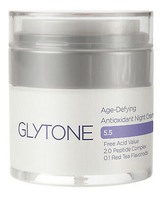 Glytone Age-Defying Antioxidant Night Cream 1 oz 30 ml. Sealed Fresh