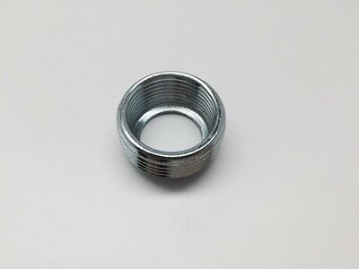"""1"""" To 3/4"""" Zinc Plated Steel Reducing Bushing 50 Lot"""