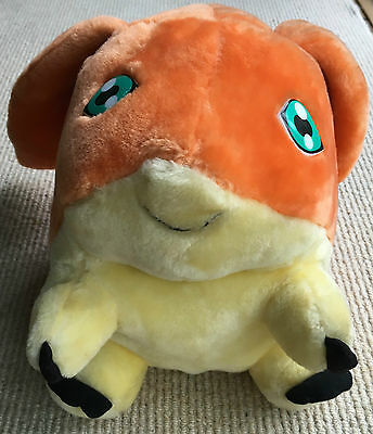 "Large 12"" Digimon Patamon Plush Soft Toy By Play By Play Toys 2001"