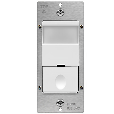 TDOS5-J PIR Motion Sensor Light Switch Auto On Off 2 In 1 Occupancy