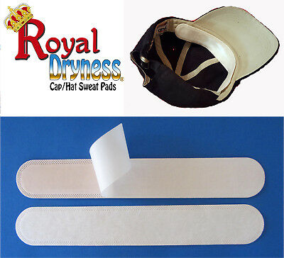 20-40-120-160 Royal Dryness Disposable Hat / Cap Sweat Pads, protect your cap