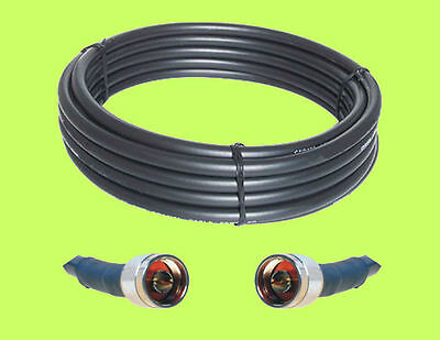 50 ft RFC600 50 Ohm LMR600 compatible Ham Radio Coax Extension Cable with N Male