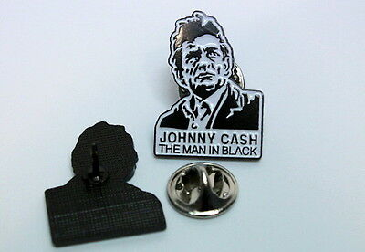 Metalpin JOHNNY CASH THE MAN IN BLACK  MBA 287