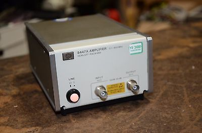 HP Agilent .1 to 400 Mhz Amplifier 8447A