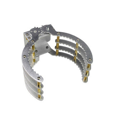 New 230mm Aluminum Robot Claw Arm Paw Gripper Clamp For Arduino