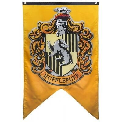 Harry Potter : HUFFLEPUFF CREST Indoor Fabric House Banner huge 130cm x 75cm