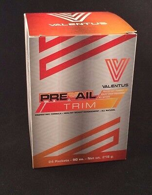VALENTUS - PREVAIL TRIM (1 BOX ) - 24 packets - weight loss - FREE SHIPPING!!!