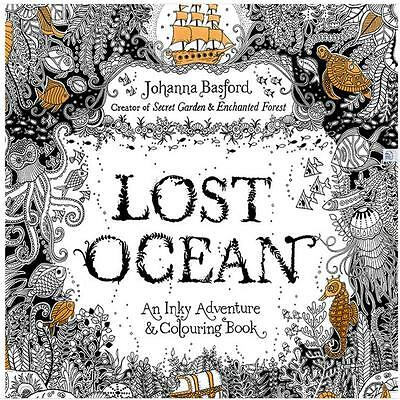 Secret Garden Lost Ocean An Inky Adventure and Coloring Book By Pencil Gift